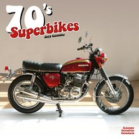 70'S Superbikes Wall Calendar 2019 by Avonside