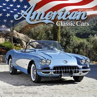 American Classic Cars Wall Calendar 2019 by Avonside