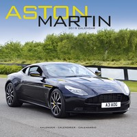 Aston Martin Wall Calendar 2019 by Avonside