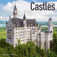 Castles Wall Calendar 2019 by Avonside