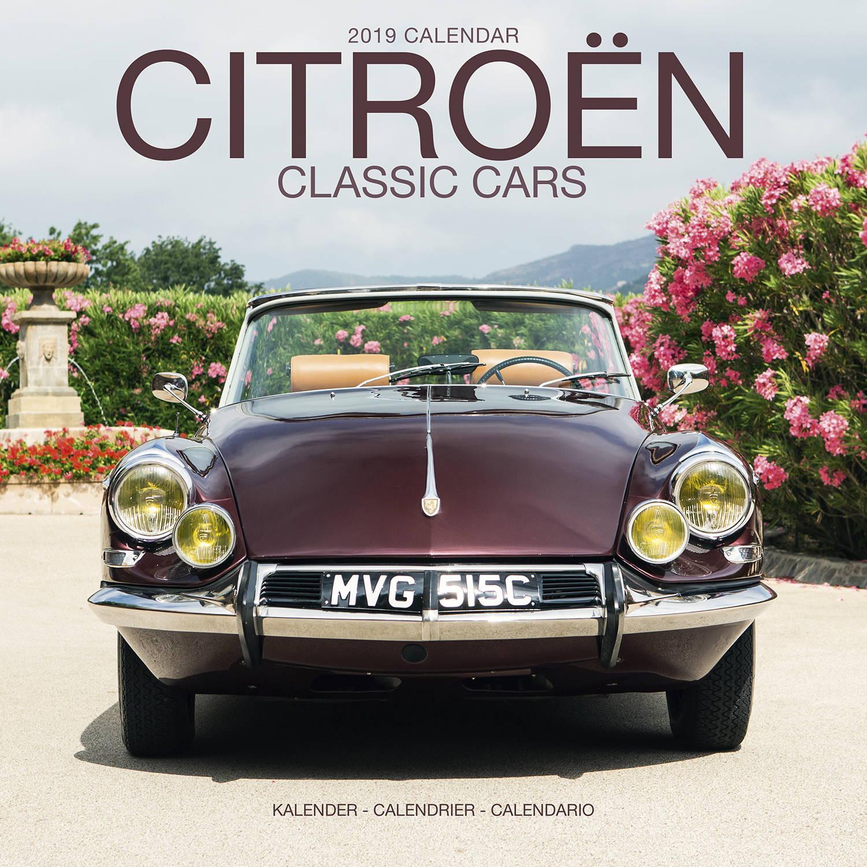 Citroen Classic Cars Calendar 2019 | Pet Prints Inc.
