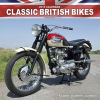 Classic British Motorbikes Wall Calendar 2019 by Avonside