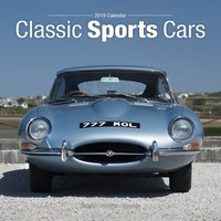 Classic Sports Cars Wall Calendar 2019 by Avonside