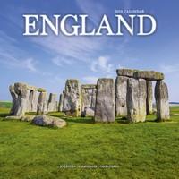 England Wall Calendar 2019 by Avonside
