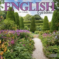 English Gardens Wall Calendar 2019 by Avonside