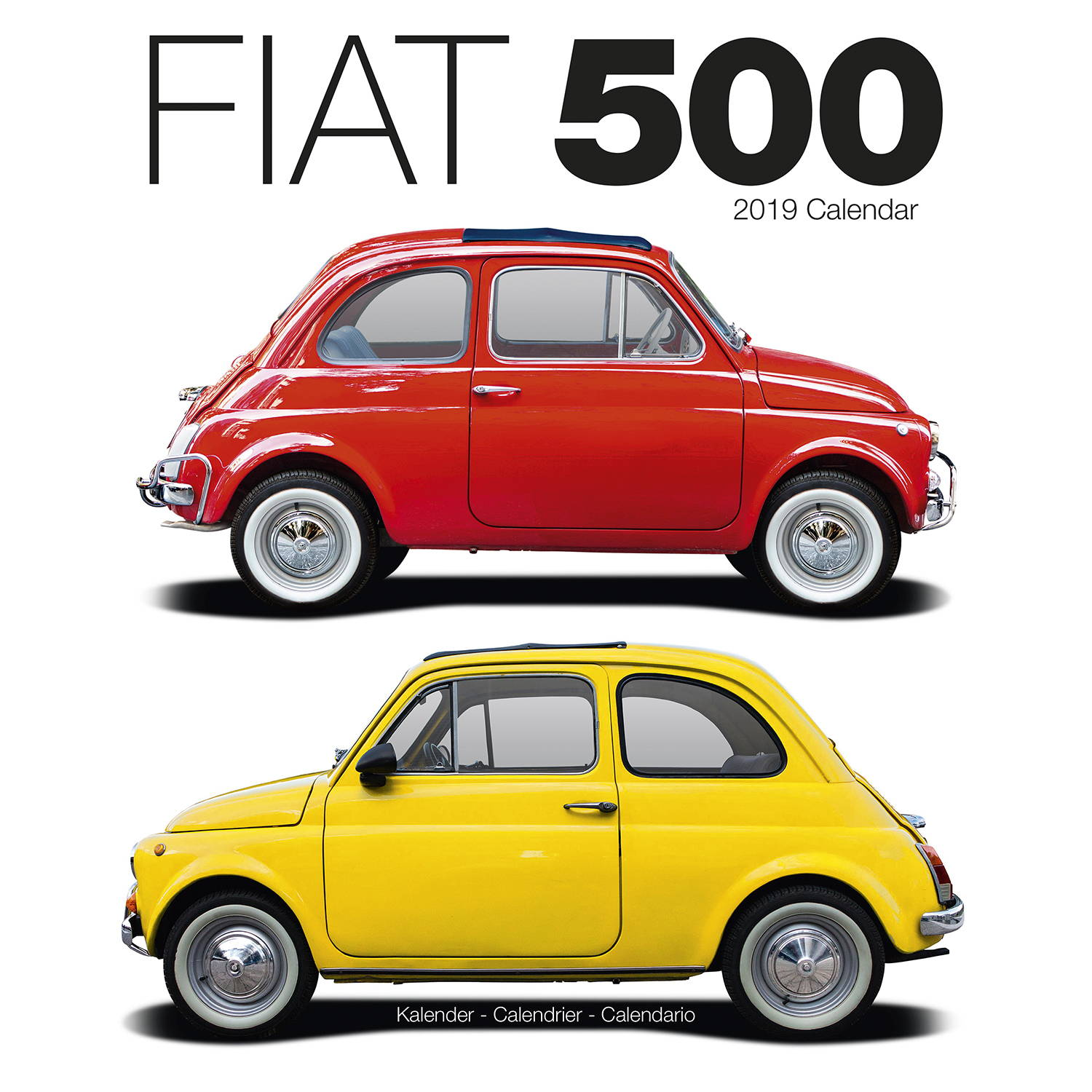 Fiat 500 Calendar, Vehicle Calendars