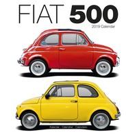 Fiat 500 Wall Calendar 2019 by Avonside