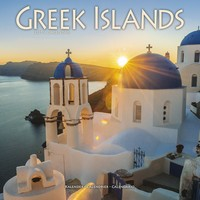 Greek Islands Wall Calendar 2019 by Avonside