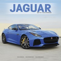 Jaguar Wall Calendar 2019 by Avonside
