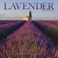 Lavender Wall Calendar 2019 by Avonside
