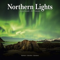 Northern Lights Wall Calendar 2019 by Avonside