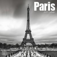 Paris Wall Calendar 2019 by Avonside