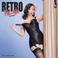 Retro Pin Ups  Wall Calendar 2019 by Avonside