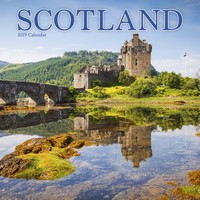 Scotland Wall Calendar 2019 by Avonside