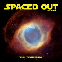 Spaced Out Wall Calendar 2019 by Avonside