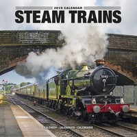 Steam Trains Wall Calendar 2019 by Avonside
