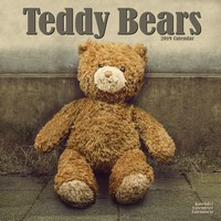 Teddy Bears Wall Calendar 2019 by Avonside