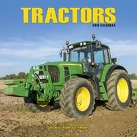 Tractors  Wall Calendar 2019 by Avonside