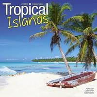 Tropical Islands Wall Calendar 2019 by Avonside