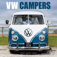 Vw Campers Wall Calendar 2019 by Avonside