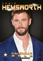 Chris Hemsworth Celebrity Wall Calendar 2019