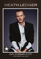 Heath Ledger Celebrity Wall Calendar 2019