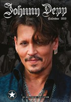 Johnny Depp Celebrity Wall Calendar 2019