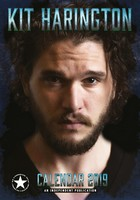 Kit Harrington Celebrity Wall Calendar 2019