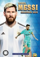 Lionel Messi Celebrity Wall Calendar 2019