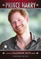 Prince Harry Celebrity Wall Calendar 2019