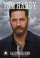 Tom Hardy Celebrity Wall Calendar 2019