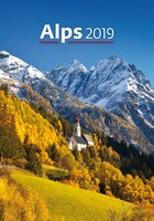 Alps Wall Calendar 2019 by Helma