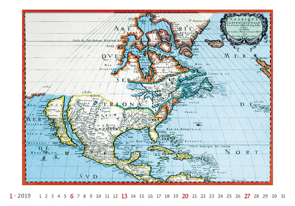 Antique Maps Wall Calendar By Helma Art Architecture - Where to buy antique maps