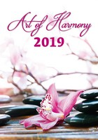 Art of Harmony Wall Calendar 2019 by Helma