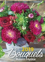 Bouquets Wall Calendar 2019 by Helma