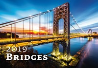 Bridges Wall Calendar 2019 by Helma