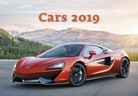 Cars Wall Calendar 2019 by Helma