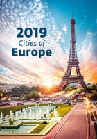 Cities of Europe Wall Calendar 2019 by Helma