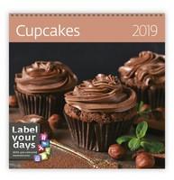 Cupcakes Wall Calendar 2019 by Helma