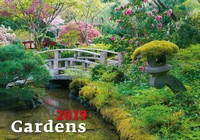 Gardens Wall Calendar 2019 by Helma