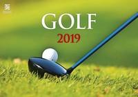 Golf Wall Calendar 2019 by Helma
