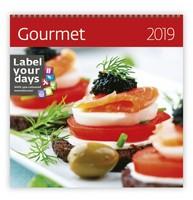 Gourmet Wall Calendar 2019 by Helma