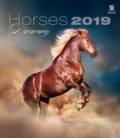 Horses Dreaming Wall Calendar 2019 by Helma