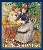 Impressionism Wall Calendar 2019 by Helma