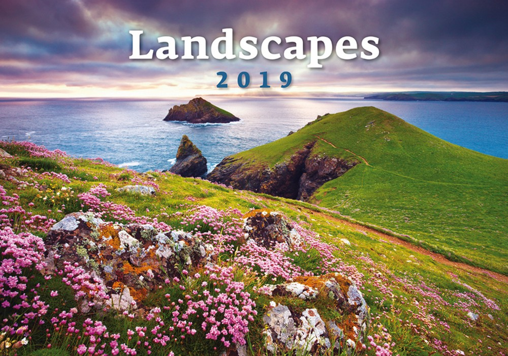 Landscapes Wall Calendar 2019 By Helma