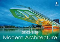 Modern Architecture Wall Calendar 2019 by Helma