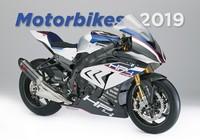 Motorbikes Wall Calendar 2019 by Helma