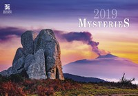 Mysteries Wall Calendar 2019 by Helma