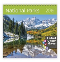 National Parks Wall Calendar 2019 by Helma