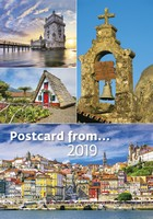 Postcard from… Wall Calendar 2019 by Helma